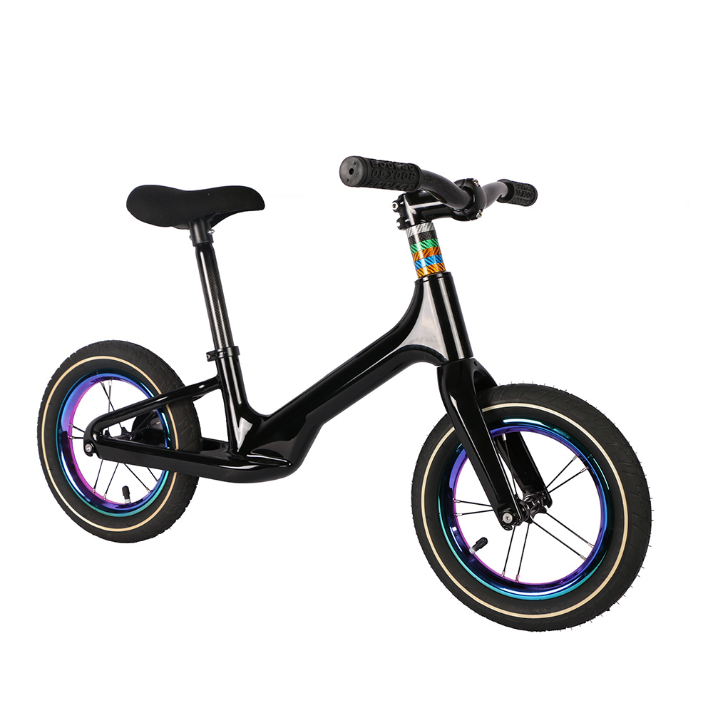Pedal-less Balance Bike Learn To Walk Get Balance Sense Carbon Kids For 2~6 Years Children Kids Super Light Complete Carbon Bike