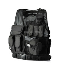 Fishing vest pocket more military enthusiasts vest puncture-proof ma3 jia3 male outdoor field CS uniform tactical vest