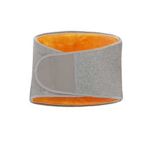 Men Women Winter Thicken Thermal Plush Waist Warmer Lumbar Support Belt Cozy Warm Abdominal Protector Stomach Body(China)