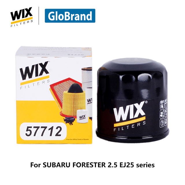 wix filtre huile de voiture machine filtre 57712 pour subaru forester 2 5 ej25 s rie auto. Black Bedroom Furniture Sets. Home Design Ideas