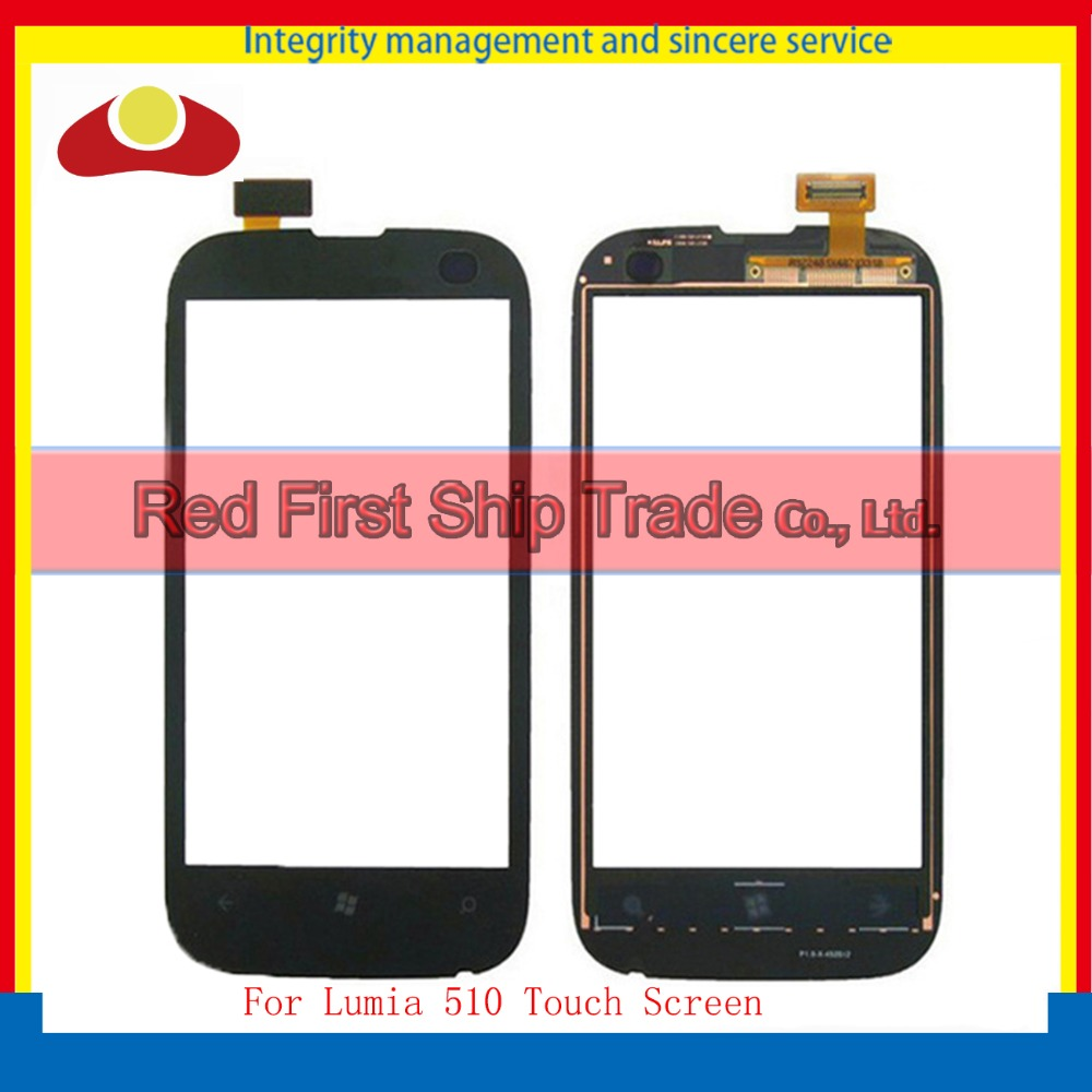 High Quality 4.0 For Nokia Lumia 510 N510 Touch Screen Digitizer Sensor Front Glass Lens Panel Free Shipping+Tracking Code