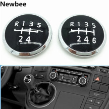 Emblem-Cap Cover Gear-Shift-Knob Vw/transporter Volkswagen 5/6-Speed for T5 T5.1 Gp Replacement