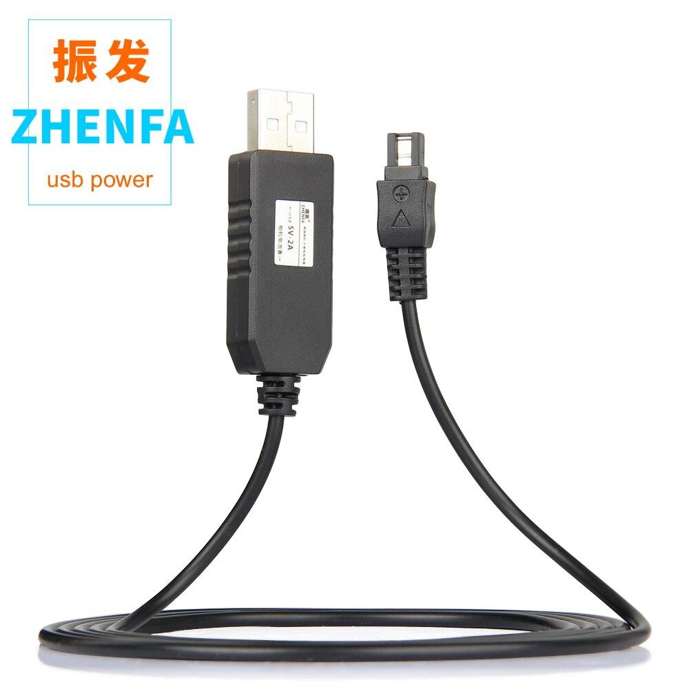 5 V USB AC-L20 AC-L200 AC-L25 puissance adaptateur chargeur câble d'alimentation pour Sony HDR-CX105 FDR-AX33 FDR-AX100 FDR-AXP33 FDR-AXP35 HDR-C6