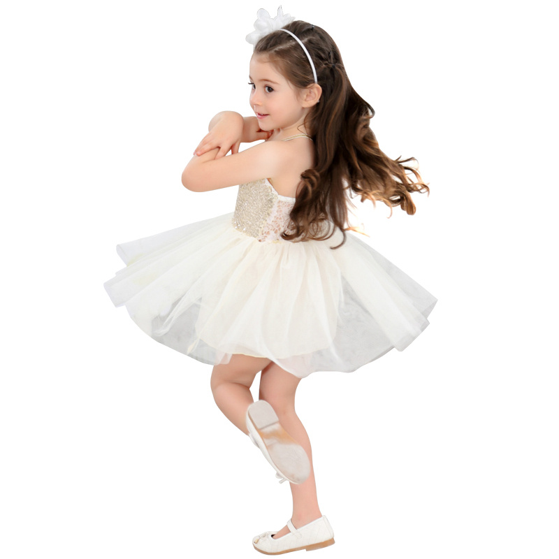 2-8 Yrs girls sleeveless Sequins lace Ballet tutu 2018 new summer Korean birthday party evening dress carnaval costumes for kids new girls ballet costumes sleeveless leotards dance dress ballet tutu gymnastics leotard acrobatics dancewear dress
