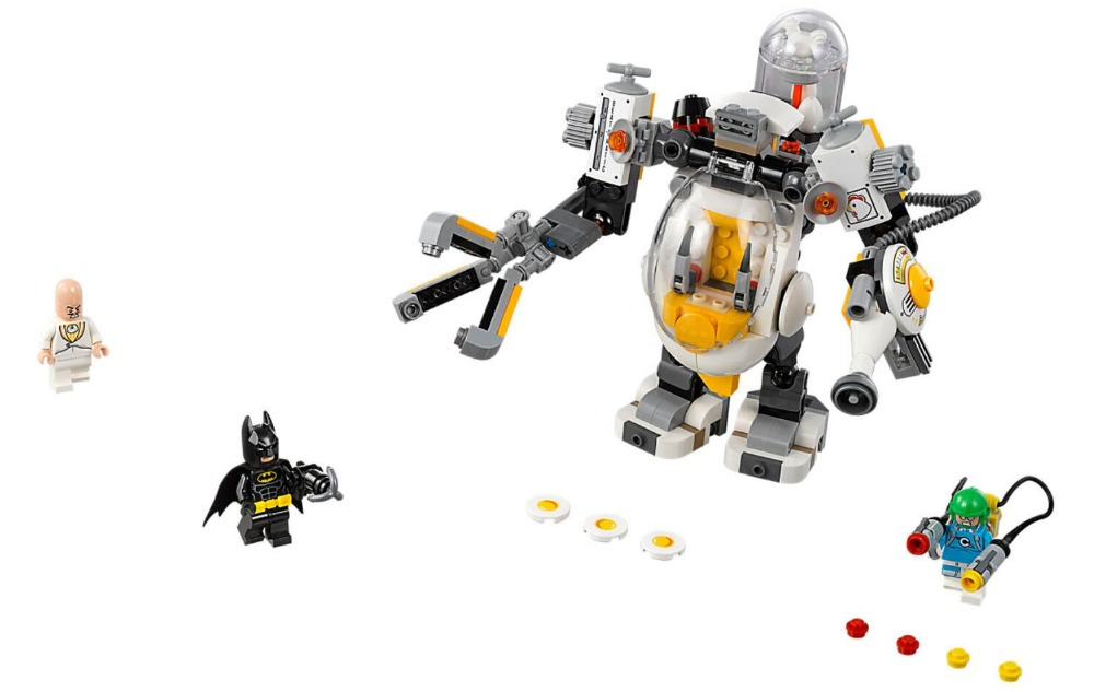 07096 Super Heroes Batman Movie Mech Food Fight Condiment King Building Blocks Toy Gift For Children 70920 Batman in Blocks from Toys Hobbies
