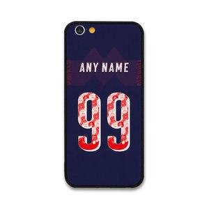European Football Ozil BELLERIN AUBAMEYANG RAMSEY IWOBI MUSTAFI Jersey style Arsenal case for Apple iPhone 7 Plus Phones cases