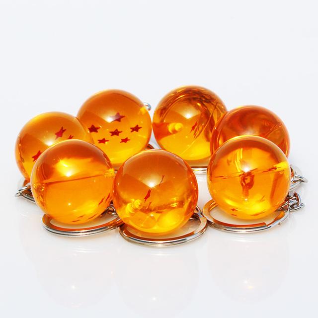 Dragon Ball Z crystal balls Keychain Pendant