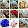3 PCS/LOT 100% PURE Silk SLEEPING Bath Cap FOR Women Hair BEAUTY SKIN CARE