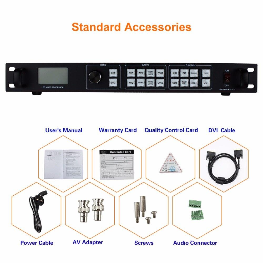 Amooonsky AMS-LVP815 vodio video procesor za vodio video zid poput - Kućni audio i video - Foto 5
