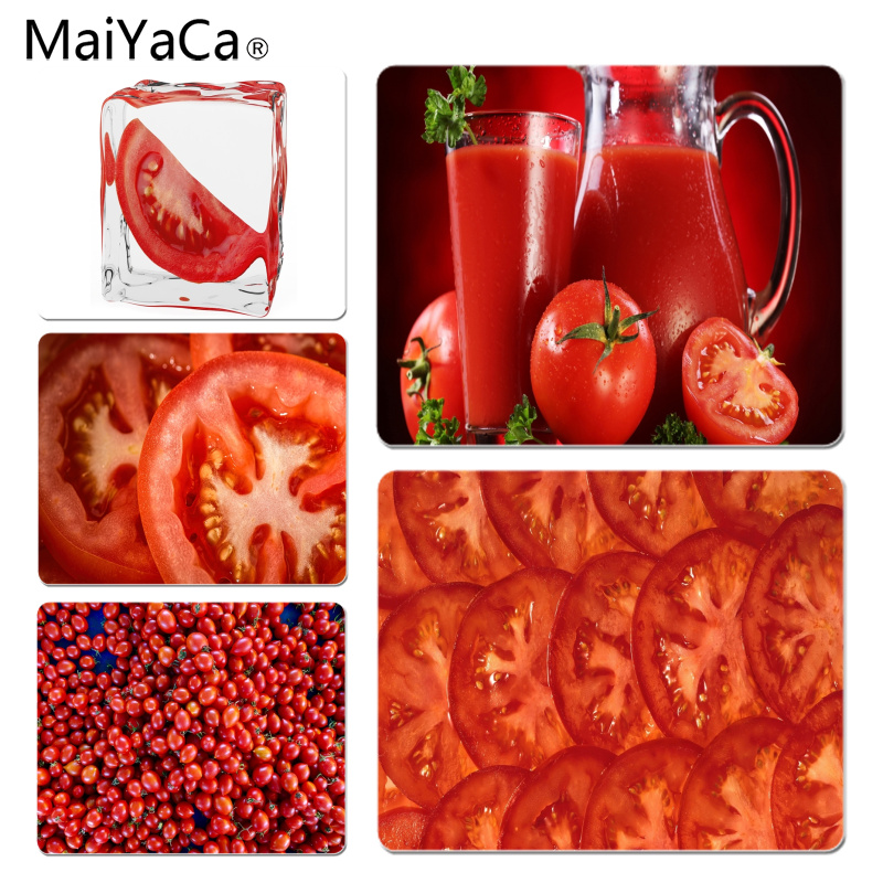 MaiYaCa Delicious Tomato Large Mouse pad PC Computer mat Size for 18x22x0.2cm Gaming Mousepads