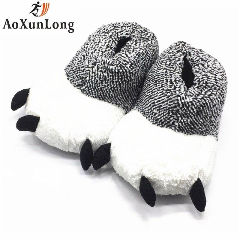 10f2b249a10d3 Drôle Animal Chaussures Pantoufles Nouveau Pantoufles pour Femmes ...