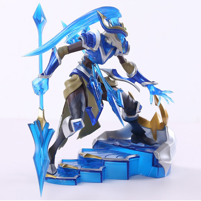 LOL League of Legends figure Action Game Kalista Model Toy action-figure 3D Game Heros anime party decor boy Creative Gift