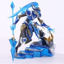 LOL figurine de jeu daction, modèle Kalista, jouet en 3D, Heros, décor de fête, jouet Cool pour garçon