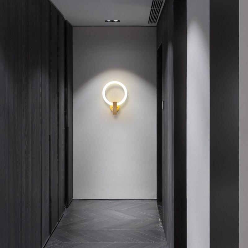 arandelas quarto lampada cabeceira criativo sala estar 03
