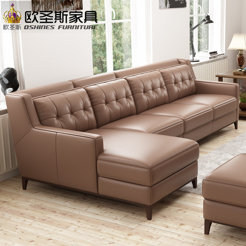 pictures of American victorian style sectional heated mini leather sofa set designs for restaurant restaurant leather sofa F76L moving pictures