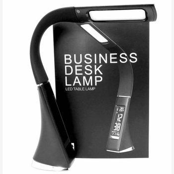 Luz De Lectura Para Libro | Artículo Al Por Mayor 5 W Lámpara LED Atenuación Textura De Piel Táctil Para Lámpara De Lectura Con Reloj Despertador Luz De Lectura De Libros Ajustable Lámpara