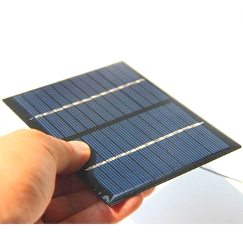 DHL FREE 200PCS/Lot 1.5W 12V Mini Solar Cell Epoxy Solar Panel With Cable Easy DIY Small Solar Applications Gree Power System