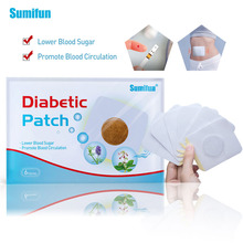 30pcs/5bags Diabetic Patch Chinese Herbal Stabilizes Blood Sugar Level Lower Glucose Balance Medical Plaster D1791