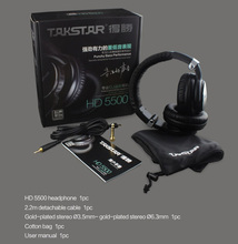 HD5500 Professional DJ Monitor Headphone Dynamic Stereo dj studio headphone Professional Audio Monitoring