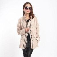 Russian Brand VLASTA Plus Size 46 58 Spring And Autumn Casaco Feminino Long Sleeve Short Design
