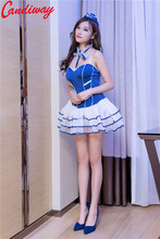 Sexy Cosplay Lolita Navy uniform Sailor suit Outfit Lady Uniform temptation sexy costumes Adult Sex Games erotic Clothes