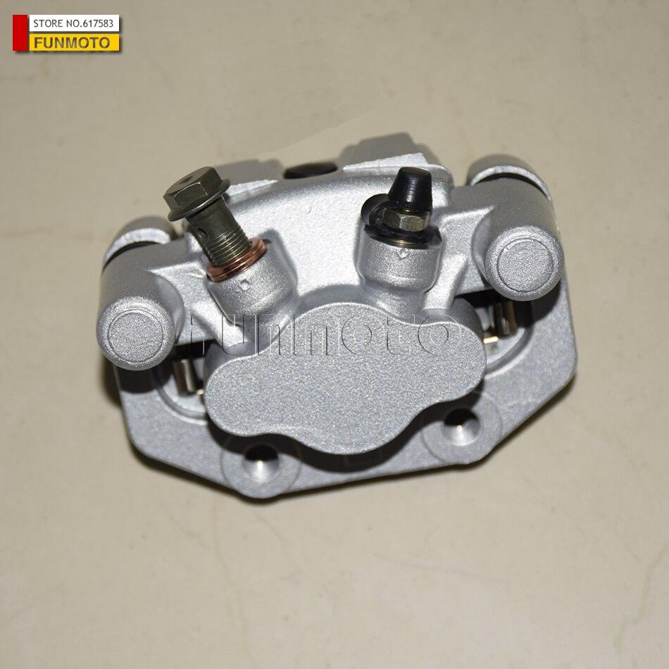 rear right Brake caliper suit for CFMOTO ZFORCE 800 EX SSV parts number is 7000-080170 brake caliper brake shoe parking clamp of cfmoto cf500 parts number is 9010 080320