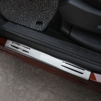 For Peugeot 3008GT 3008 GT 2016 2017 Steel Car Styling Accessories Exterior Outer Door Sill Scuff