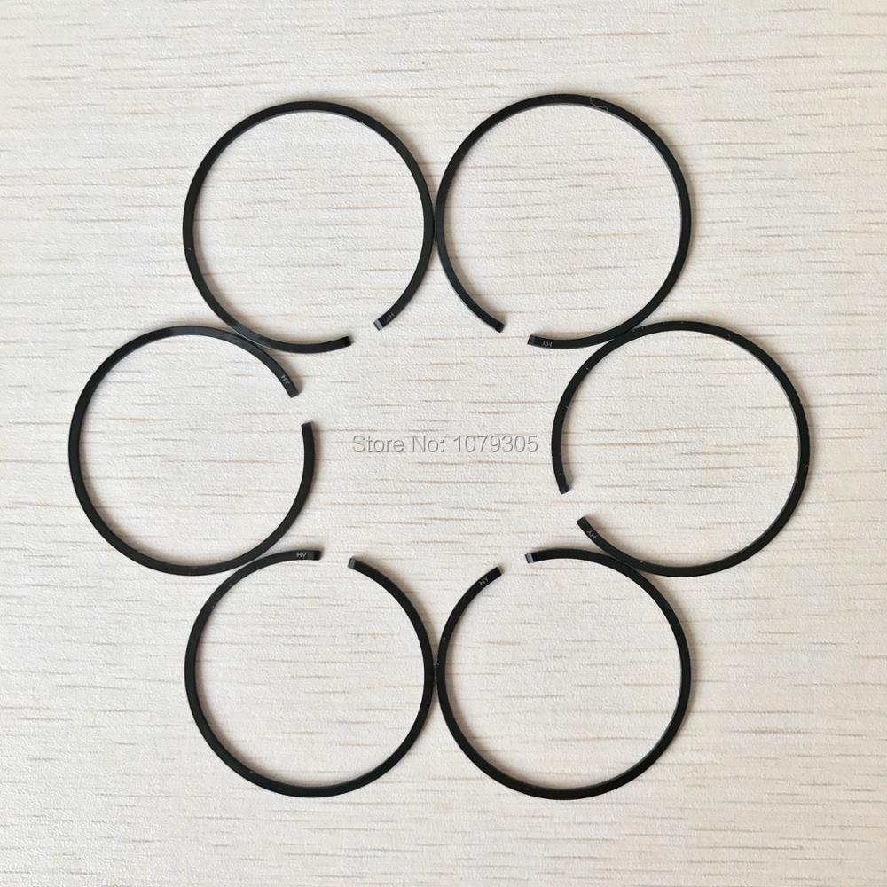 6pcs 58CC Chiansaw Piston Rings