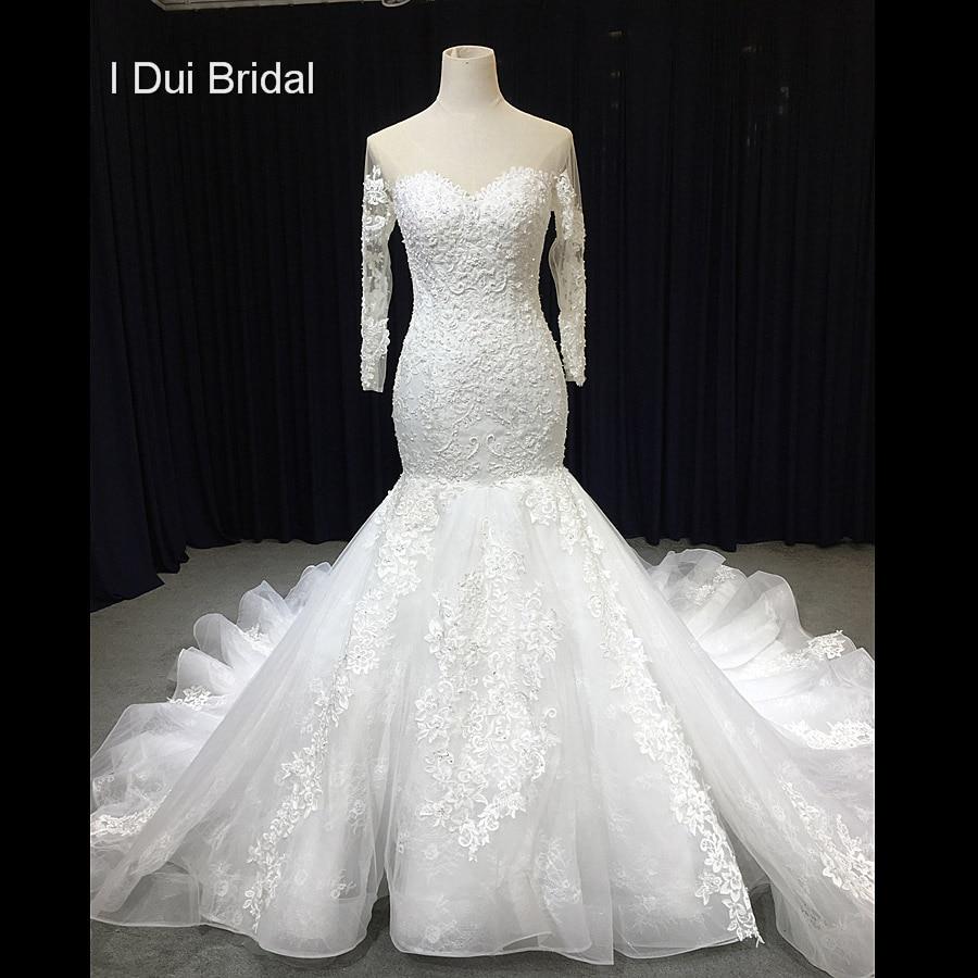 Wedding Gown Warehouse: Aliexpress.com : Buy Sheer Neckline Wedding Dress Mermaid