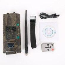 HC-700G охоты Камера 3g GPRS MMS SMTP SMS 16MP 1080 P 120 градусов PIR 940NM инфракрасный дикой природы Ночное видение Trail фото ловушки