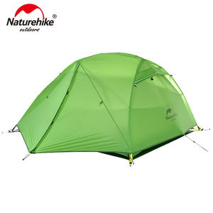 Naturehike Camping-Tent Ultralight River Star 2-Person with Free-Mat NH17T012-T Upgraded