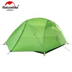 Naturehike Star Fiume Tenda Da Campeggio Aggiornato Ultralight 2 Persona 4 Stagione Tenda Con Trasporto Zerbino NH17T012-T