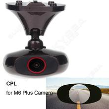 Free shipping! 1pc Polarizing Lens CPL Filter Sticker For Ddpai M6 Plus Car Dashcam GPS Camera(Not included)