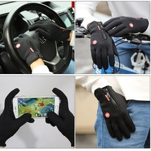 Adjustable Outdoor Windproof Skiing Gloves