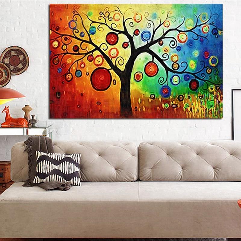 Բազմամյա ջրաներկ խնձորի ծառ Ծայրահեղ - Տնային դեկոր - Լուսանկար 4