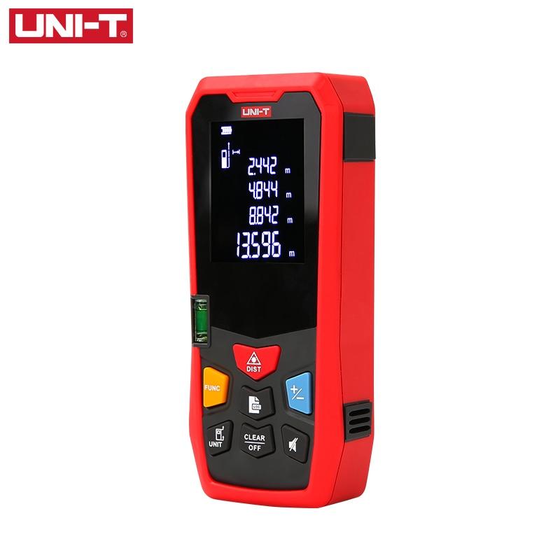 UNI-T Laser Range Finder 40M 50M 60M LM Series Digital Laser Distance Meter Trena Tape Build Measure Electronic Ruler