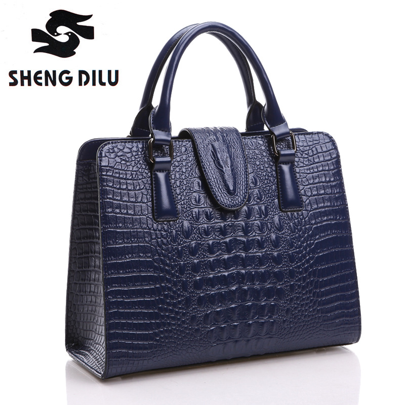 2016 Embossing Genuine leather bags for women Ladies Crocodile Pattern messenger bag High Quality bolsa feminina cross body bag vogue star women bag for women messenger bags bolsa feminina women s pouch brand handbag ladies high quality girl s bag yb40 422