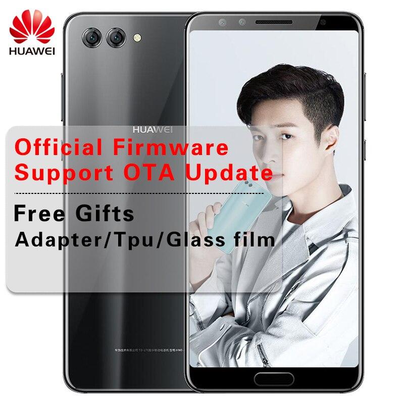 """Huawei Nova 2 S Android 8,0 мобильный телефон 6,0 """"полный вид экран 2160 * 1080pix смартфон Octa Core 4 камеры отпечатков пальцев ID NFC"""