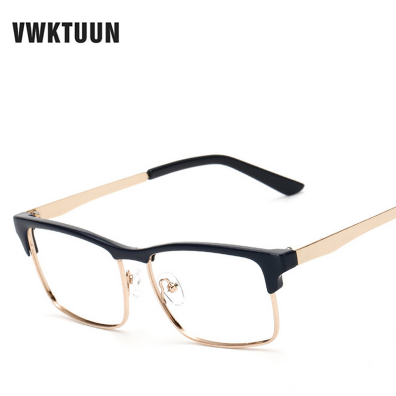 VWKTUUN Vintage Oversized Eyeglasses Frame Retro Business ...