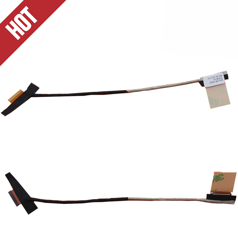 New LCD Cable For ACER aspire E1-522 E1-522G MS2384 For Gateway NE522 Laptop Video Flex 50.4YU01.001 50.4YU01.011 30Pin new c5pm2 dc02002ql00 for acer vx5 591g lcd lvds cable 30pin