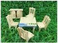3d de madera pretend play muebles mini toys hogar diy educativos para niños rompecabezas modelo de gabinete de la cocina sala de casa de muñecas