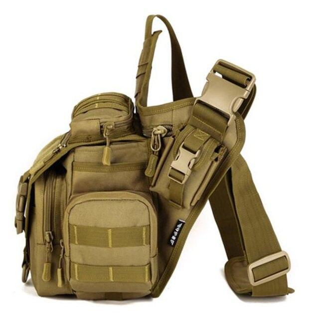 9c11364f9a Men Military Messenger Bag Nylon Man DSLR Camera Handbags Waterproof Male  Saddle Shoulder Bags camouflage School bag