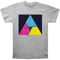 Men Cotton T Shirt Printed T Shirt Animals As Leaders Men 039 S Multicolor Triangle T