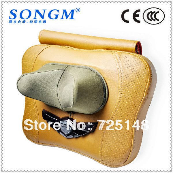 Free shipping Portable Shiatsu Infrared Heat Back Massage Machine pillow massage pillow massage cushion