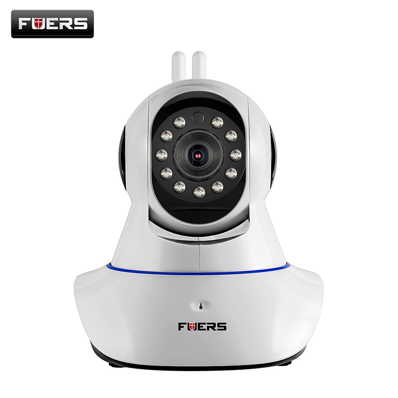 Fuers WiFi Camera IR Cut IP Camera Pan/Tilt Wireless Surveillance CCTV Camera 720P HD 1MP CMOS Home Security Baby Monitor howell wireless security hd 960p wifi ip camera p2p pan tilt motion detection video baby monitor 2 way audio and ir night vision