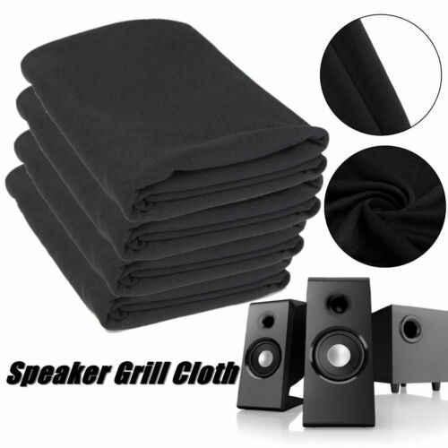 1.4m x 0.5m hoparlör ızgarası bez Stereo Gille kumaş hoparlör radyo file kumaş İngiltere