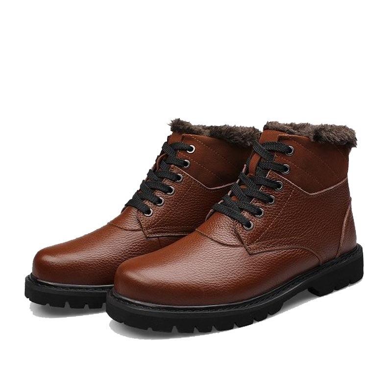 acd4220ab ... الرجال الشتاء الثلوج الحذاء منصة كاحل جزمة رجل ركبة...us $57.35 ...