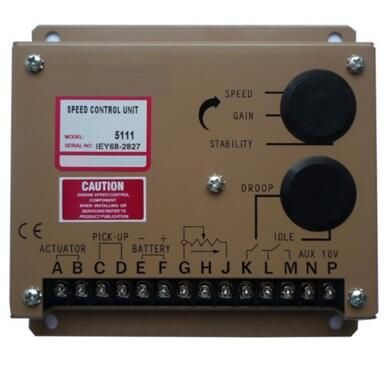 Engine Motor Speed Regulator ESD5111 diesel genset adjustment controller power supply ac generator part 12v 24v speed govornor brand new aftermarket engine speed controller efc3044196 fits 12 24v generator