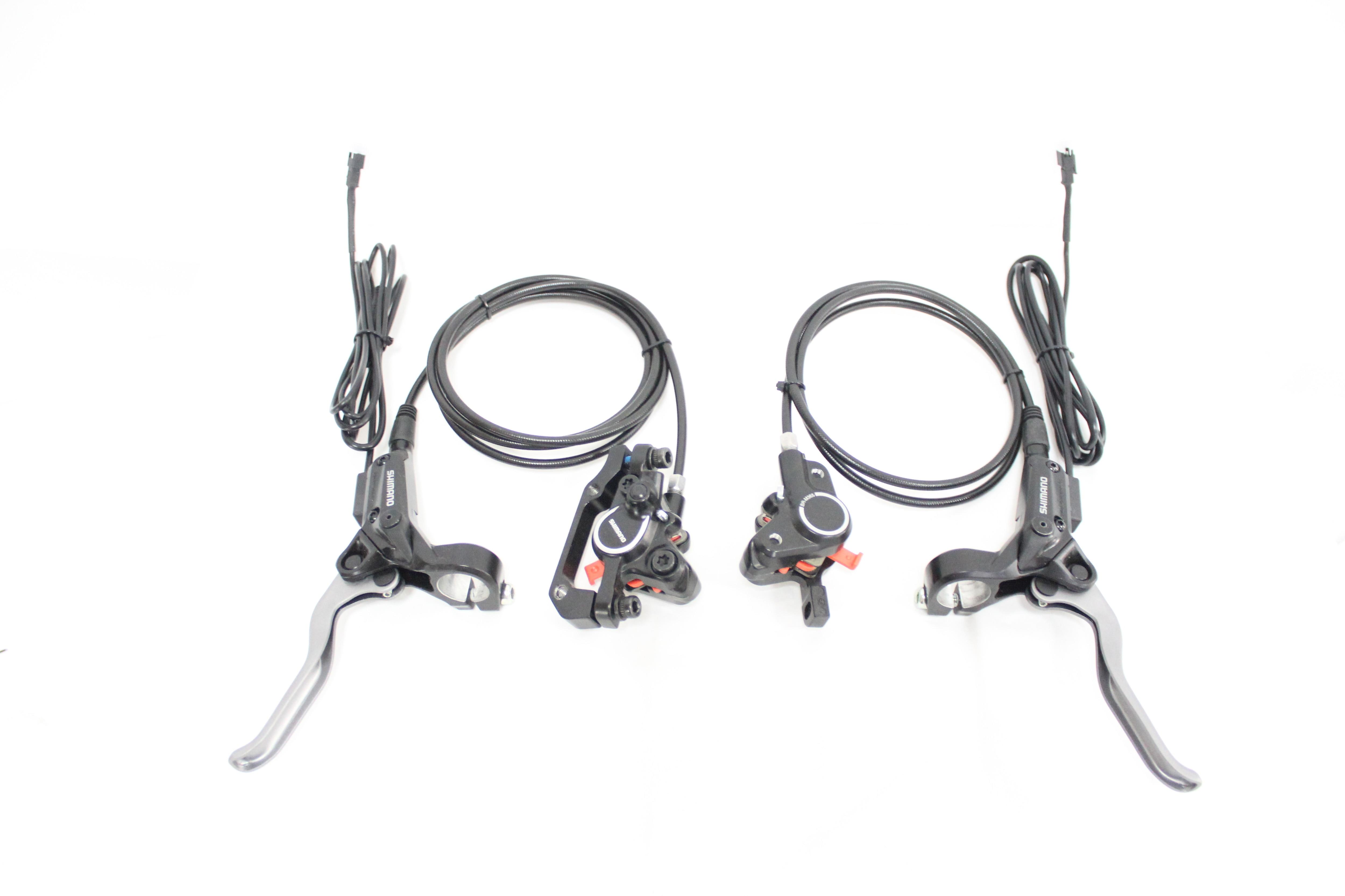 RisunMotor Universal Ebike SHIMA M365 Modified Hydraulic Disc Brakes for bafang Can Cut Off Power