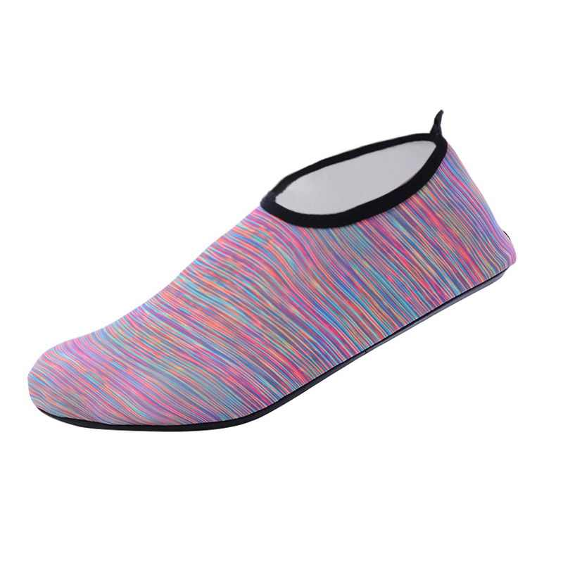 Adisputent 2019 Casual Shoes Men Slip-on Summer Breathable Men's Flats  Water Beach Waterpark Sandals Footwear Men Aqua Slippers